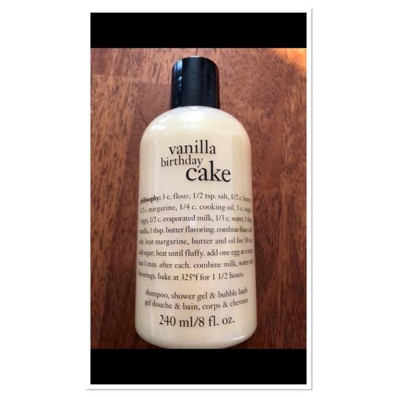 Philosophy Accessories Vanilla Birthday Cake 3 In 1 Poshmark